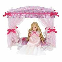 TAKARA TOMY Licca-chan LF-07 Dream Princess Bed Set No Doll w/ Tracking NEW