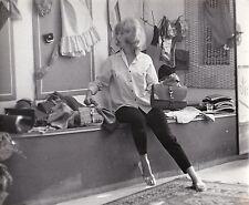 Monica Vitti Candid Original Vintage circa 1960