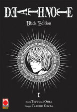 manga DEATH NOTE BLACK EDITION N. 1-2-3-4-5-6 SERIE COMPLETA nuovo planet