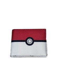 Pokemon Bifold Wallet Pokéball New