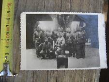 PHOTO ORIGINALE WW2 Soldats Allemands ? endroit fort a determiner 39 / 45
