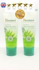 2 x Himalaya Neem Face Wash with Turmeric -  Travel Size 15ml