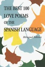 The 100 Best Love Poems of the Spanish Language-ExLibrary