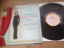 Carmen Bizet LP Maria Callas COLUMBIA W/G STEREO SME SMC 80866 GERMANY