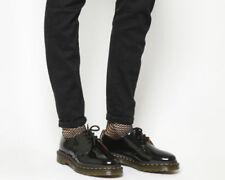 Zapatos planos de mujer negros de charol, talla 39