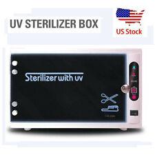 8L Sterilizer Heater Hot Towel Warmer Cabinet Equipment Facial Spa Salon Tool Us