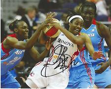 Ivory Latta signed 8 x 10 photo Wnba basketball Mystics North Carolina Free Ship