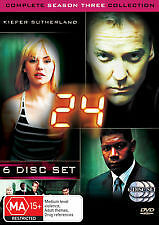 24 - COMPLETE SEASON THREE / 3 - BRAND NEW & SEALED 6-DISC DVD BOX SET (REG.4)