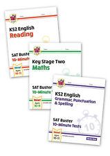 KS2 Maths & English SAT Buster:10-Minute Tests (for the 2020 Exams) By CGP Books