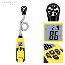 TROTEC BA16 Anémomètre flexible, thermo anemometre vitesse de l'air
