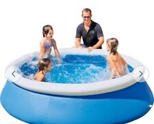Bestway 8ft Quick Up Round Family Pool - 2300L365/0127
