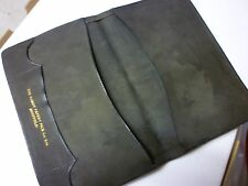 Vintage Gentleman's Note Stamp Wallet in Pigskin Leather Hardy Patent Pick Shffd