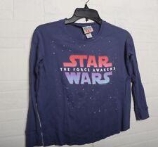 Star Wars Junk food Girls Long Sleeve T-Shirt The Force Awakens Size 8 Medium