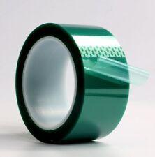 008mm 2 X 72 Yards High Temp Green Polyester Masking Heat Tape Powder Coating