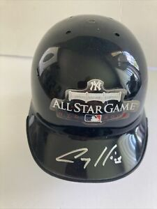 New York Yankee 2008 All Star Batting Helmet Autographed