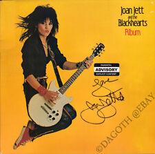 JOAN JETT Album VINYL LP I Love Rock N Roll The Runaways Cherry Autograph SIGNED