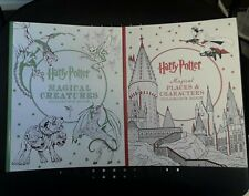 2 Harry Potter Coloring BOOKS, NEW