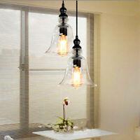 Glass Pendant Light Modern Ceiling Lights Kitchen Chandelier Lighting Room Lamp