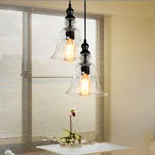 Bar Glass Pendant Lighting Kitchen Coffee Shop Room Lamp Modern Ceiling Light