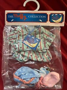 Muffy VanderBear OutfitThe Pajama Game with boots hat and sheep! -  MINT in bag