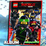 Lego Ninjago The Movie Sticker Blue Ocean Album