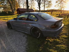 e46 rear overfenders WIDEBODY V2 COUPE REGULAR