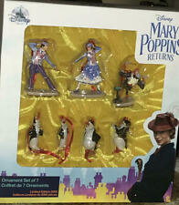 Disney Store Mary Poppins Returns Ornament Set of 7 Le 3000 New