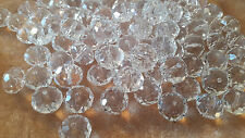 15  perles en cristal de Bohême