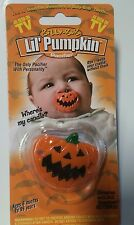 Billy Bob Big Teeth Lil' Pumpkin Pacifier NEW Baby Infant Halloween Costume