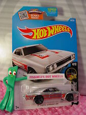 2016 Hot Wheels '69 DODGE CHARGER 500 #84☆Walmart Exclusive ZAMAC; Red; gray mc5