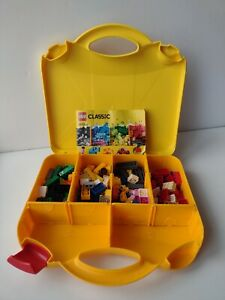 LEGO Classic Creative Creator Bricks Building Set 10713, W/ Travel Storage Box.