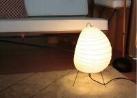 ISAMU NOGUCHI AKARI 1N Shade Lamp Legs Metal Frame Whole Set Light Japan New