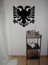 Wandtattoo, wall art, Sticker, Kosovo Adler, Albanischer Adler, Folienschnitt