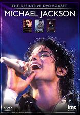 DVD:MICHAEL JACKSON - THE DEFINITIVE BOXSET - NEW Region 2 UK
