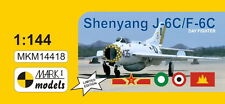 Mark I Models 1/144 Shenyang J-6C / F-6C (Chinese MiG-19) Farmer C Model Kit