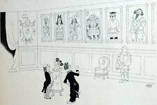 Normandie Guerre Salon art Tableaux Humour Caricature Albert Dubout 1944