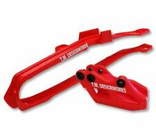 TM Designworks Slide N Guide Kit Red Honda CRF250R 10-13 CRF450R 09-12