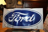 "Vintage Large FORD Decal 25"" x 11-3/4"""