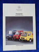 Mercedes Transporter Pritschenwagen & Kipper MJ 1994 - Prospekt Brochure 12.1993