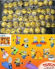 McDonald's 2020 MINIONS 2 RISE OF GRU & 2017 DESPICABLE ME 3 -Pick your toy