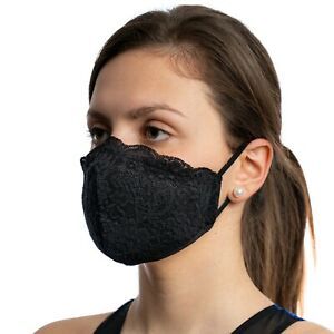 Made In Europe Face Mask with Filter Pocket Triple layer Washable Reusable New