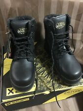 Oliver Work Boots AT Composite Cap 45645C Black Size 7.5 Aus/uk Priced To Clear