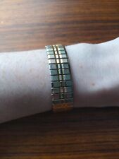 15mm Thick - Beautiful Vintage Piece Vintage Expanding Watch Strap Bracelet -