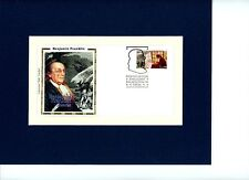 Ben Franklin - Patriot, Ambassador, Inventor & First day Cover of his own stamp