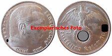 J367 5 Reichsmark Hindenburg m. H.   1937 J in VZ+  435023