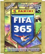panini FIFA 365 2018 official Stickers 25 Tüten mit je 5 Stickern