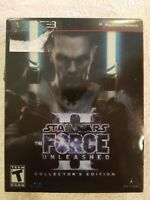 New Sealed Star Wars: The Force Unleashed II -- Collector's Edition PS3 game!