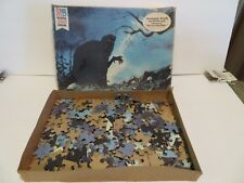 RARE  MB 1978 The Lord of the Rings Puzzle The Hobbit #4 A BLACK RIDER # 4985