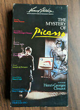 The Mystery of Picasso VHS 1982