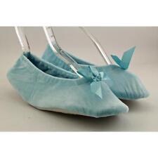 Zapatos planos de mujer azules, talla 39